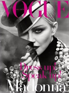 Madonna Vogue Germany April 2017 -2017.3.3-