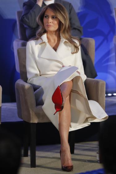 Melania Trump in The Row Resort 2017-2