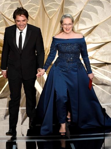 Javier Bardem, Meryl Streep