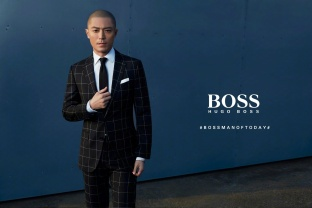 Wallace Huo Hugo Boss Man of Today Spring 2017 Campaign