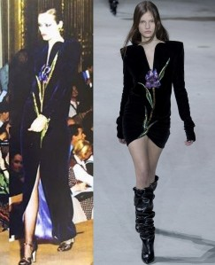 Yves Saint Laurent 1978 vs. 2017 -2017.3.2-