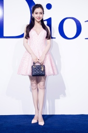 Angelababy in Christian Dior-2