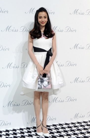 Angelababy in Christian Dior-3