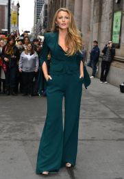 Blake Lively in Brandon Maxwell Fall 2017-2