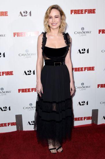 Brie Larson in Elie Saab Fall 2017-1