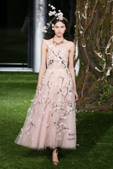 Christian Dior Spring 2017 Couture Tokyo Look 5