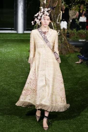 Christian Dior Spring 2017 Couture Tokyo Look 6