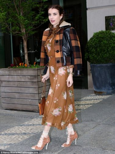 Emma Roberts in Coach 1941 Fall 2017-2