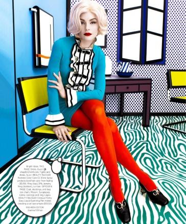 Jessica Stam Harper's Bazaar US May 2017-2
