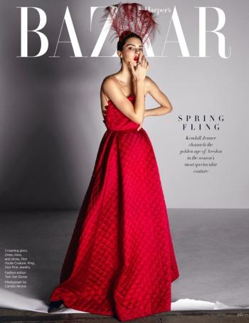 Kendall Jenner Harper's Bazaar US May 2017 Cover B