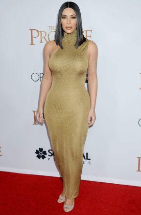 Kim Kardashian in Gianni Versace Fall 1997 Couture-1