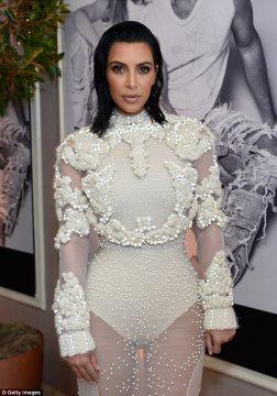 Kim Kardashian in Givnechy Fall 2011 Couture-1