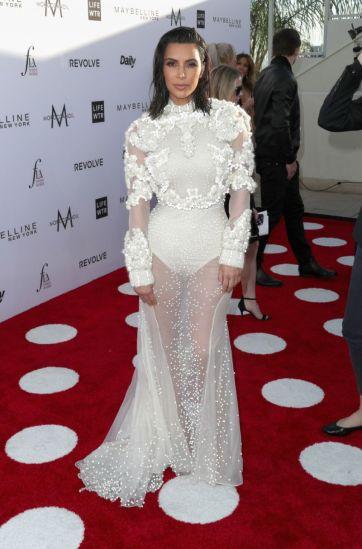 Kim Kardashian in Givnechy Fall 2011 Couture-2