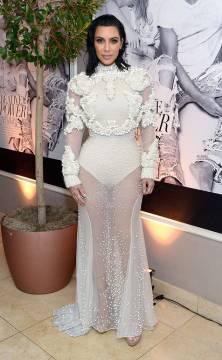 Kim Kardashian in Givnechy Fall 2011 Couture