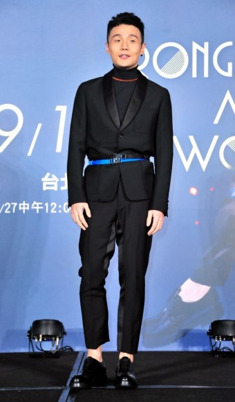 Li Ronghao in Prada Spring 2017 Menswear