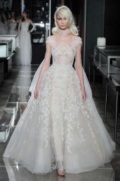 Reem Acra Bridal Spring 2018 Look 31