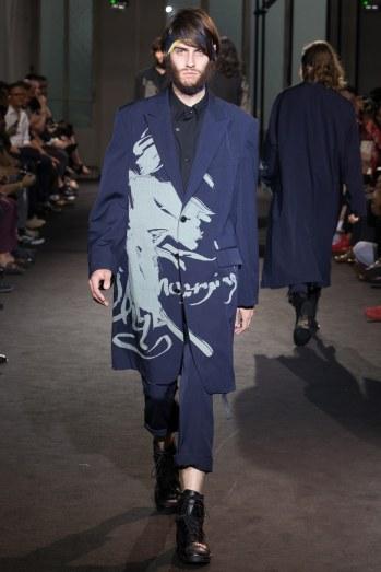 Yohji Yamamoto Spring 2017