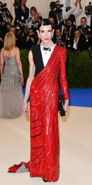 Amy Fine Collins in Thom Browne