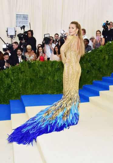 Blake Lively in Atelier Versace