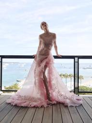 Coco Rocha in Georges Hobeika Spring 2017 Couture-3