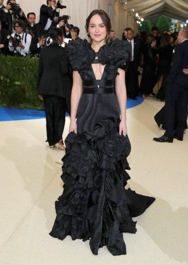 Dakota Johnson in Gucci