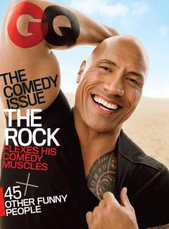 Dwayne Johnson GQ US June 2017 The Comedy Issue Cover