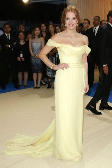 Jessica Chastain in Prada-2
