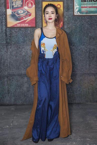 Jolin Tsai in Stella McCartney Spring 2017