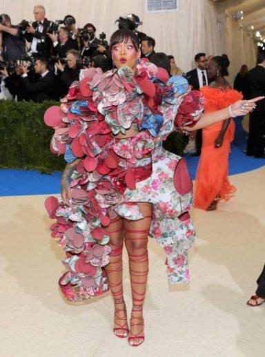 Rihanna in Comme des Garçons Fall 2016-2