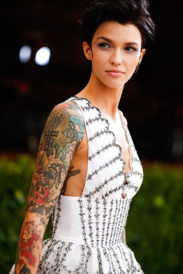 Ruby Rose in Burberry-1