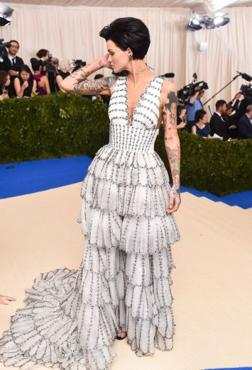 Ruby Rose in Burberry-2