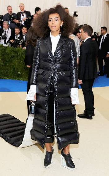 Solange Knowles in Thom Browne Fall 2017