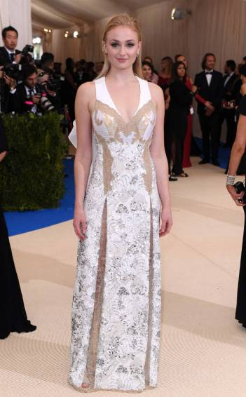 Sophie Turner in Louis Vuitton