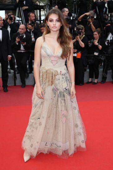 Thylane Blondeau in Dior Spring 2017-1