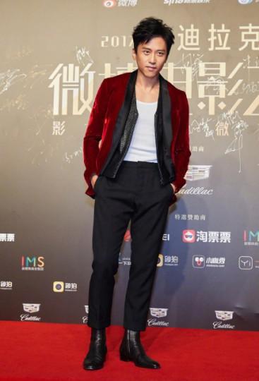 Deng Chao in Berluti Fall 2017 Menswear