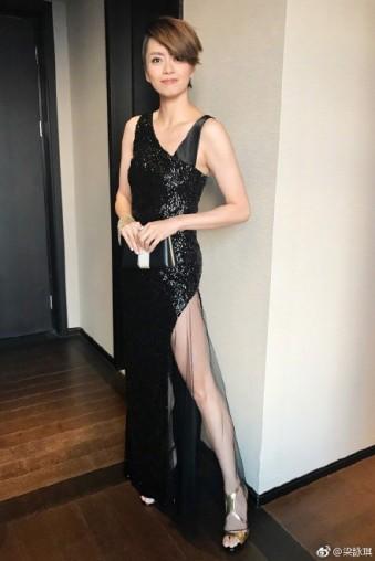 Gigi Leung in Lanvin Pre-Fall 2017-2