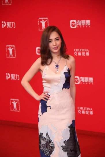 Gillian Chung Yan Tung in La Perla Spring 2017-1