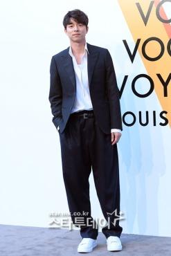 Gong Yoo in Louis Vuitton