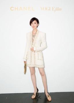 Guey Lun Mei in Chanel Pre-Fall 2017