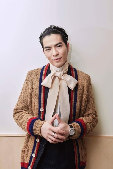 Jam Hsiao in Gucci-1