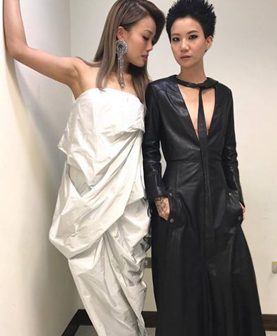 Joey Yung in Rick Owens Tangle Gown-2