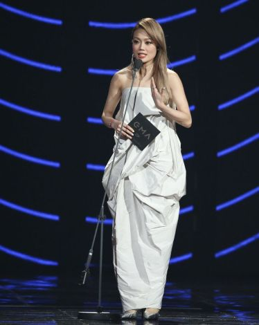 Joey Yung in Rick Owens Tangle Gown