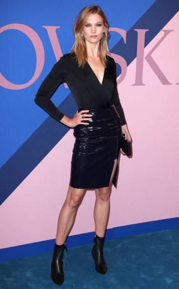 Karlie Kloss in Diane von Furstenberg