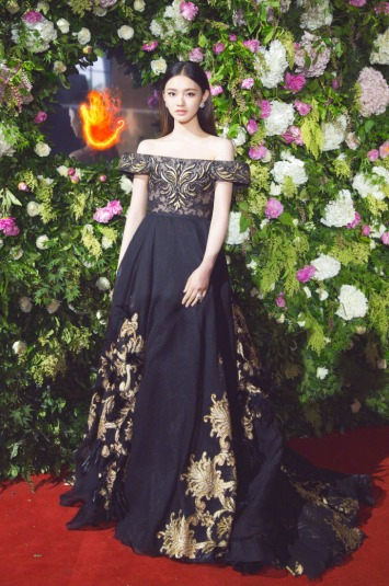 Lin Yun in Tony Ward Fall 2016 Couture