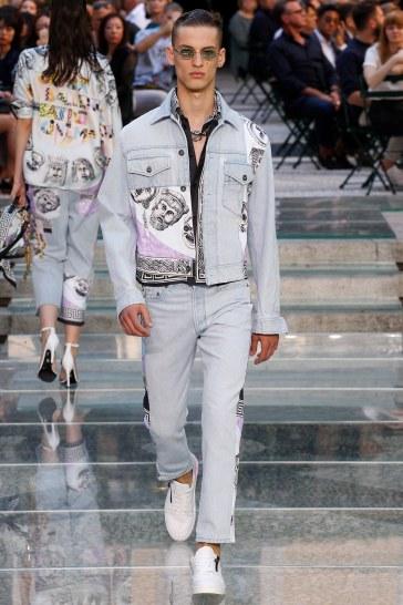 Versace Spring 2018 Menswear Look 26