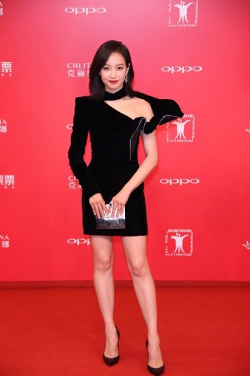 Victoria Song in Saint Laurent Fall 2017