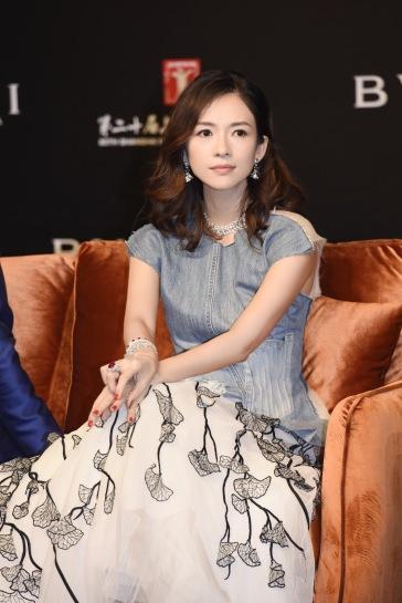 Ziyi Zhang in Maticevski Fall 2017