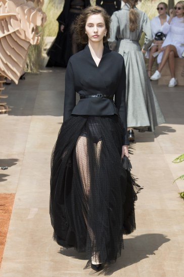 Christian Dior Fall 2017 Couture Look 24
