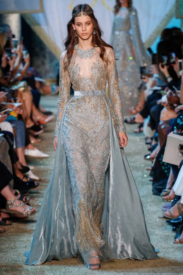 Elie Saab Fall 2017 Couture Look 38