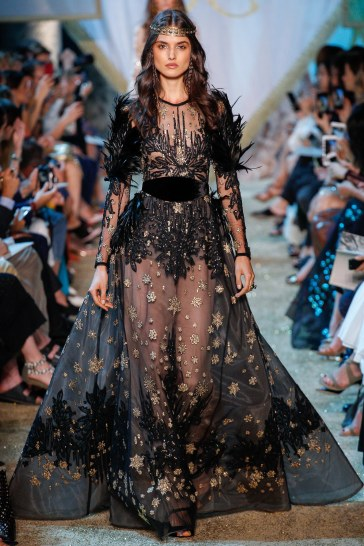 Elie Saab Fall 2017 Couture Look 52